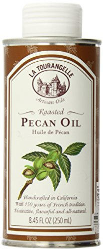 (La Tourangelle Roasted Pecan Oil 8.45 Fl. Oz., All-Natural, Artisanal, Great for Salads, Grilled Fish and Meat, or Pasta)