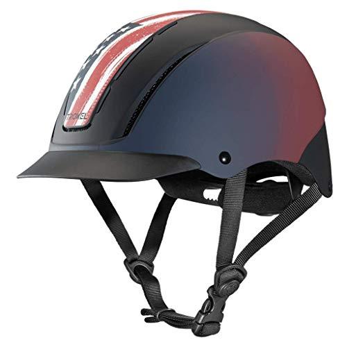 Troxel Spirit Freedom Horse Riding Western Helmet Low Profile Adjustable (Medium)