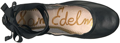 Sam Edelman Mujer Fallon Ballet Flat Cuero negro