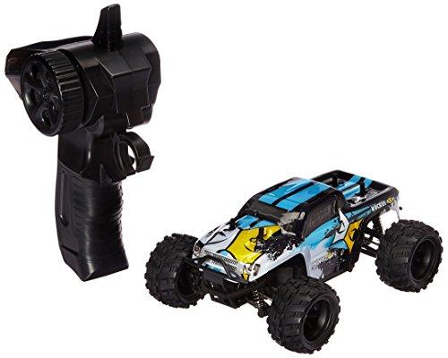 ECX Ruckus 1:24 4wd Monster Truck: Black/White - Hobby Horizon