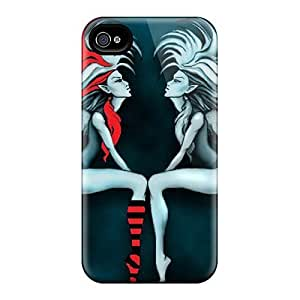 Durable Case For The Iphone 4/4s- Eco-friendly Retail Packaging(punk Fairy)