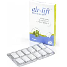 amazon com air lift air lift dental gum immediate elimination of bad breath sugar 12 units