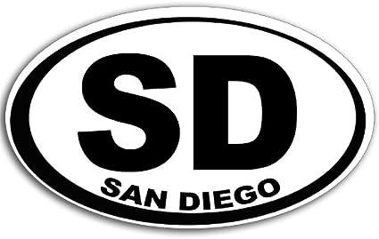 "Los Angeles LA White City Oval car window bumper sticker decal 5/"" x 3/"""