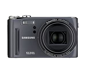 Samsung HZ15W 12MP Digital Camera with 10x Schneider Wide Angle Dual Image Stabilized Zoom and 3.0 inch LCD (Grey)