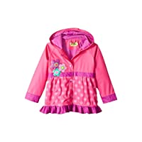 Western Chief Kids Soft Lined Character Rain Jackets, Flower Cutie, 2T