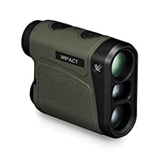 Simply put, with the high-performing Impact 850 and its economical price tag, you don't have an excuse to head afield without a laser rangefinder. Accurately ranges reflective targets to 850 yards, providing critical distance readings hunters...