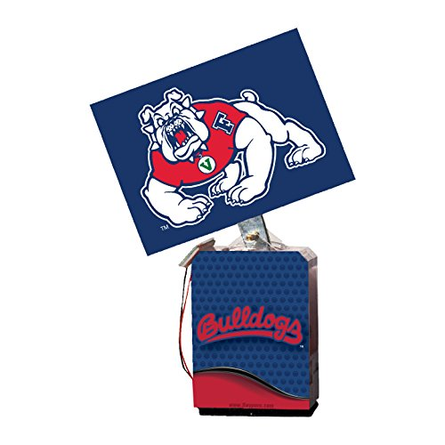 NCAA Fresno State Bulldogs Adult Solar Buddy, 6.5