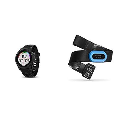 Garmin Forerunner 935 Running GPS Unit (Black) and HRM-Tri Heart Rate Monitor Bundle