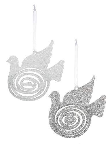 Ornaments Set of 2 Assorted ()