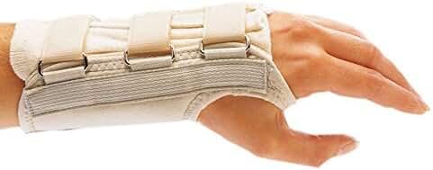 Rolyan A611LXL D-Ring Left Wrist Brace, XL