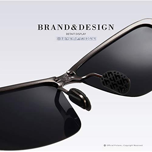 Sol Metal Gafas para con Polarizadas UV400 Irrompible Y De B Deportivas Aili Marco B Hombre De Ultraligero 100 wUqxHEw7W