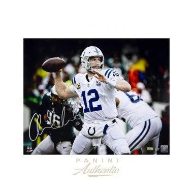 6deec4d0 Amazon.com: ANDREW LUCK Autographed Indianapolis Colts