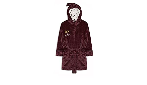 Love to Lounge Señoras y niñas Harry Potter Hogwarts Bata Polar Albornoz Burgandy/Harry Potter Large: Amazon.es: Ropa y accesorios
