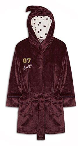 Ladies Harry Potter Hogwarts Dressing gown fleece robe UK 14-16  Amazon.co. uk  Clothing 0b808b87d