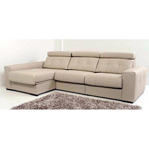 SHIITO Minimalista sofá con Chaise Longue a la Izquierda ...
