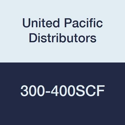 United Pacific Distributors 300-400SCF Crimp Fittings Hose Size 3 Stainless Steel Ferrules Internal Diameter 4