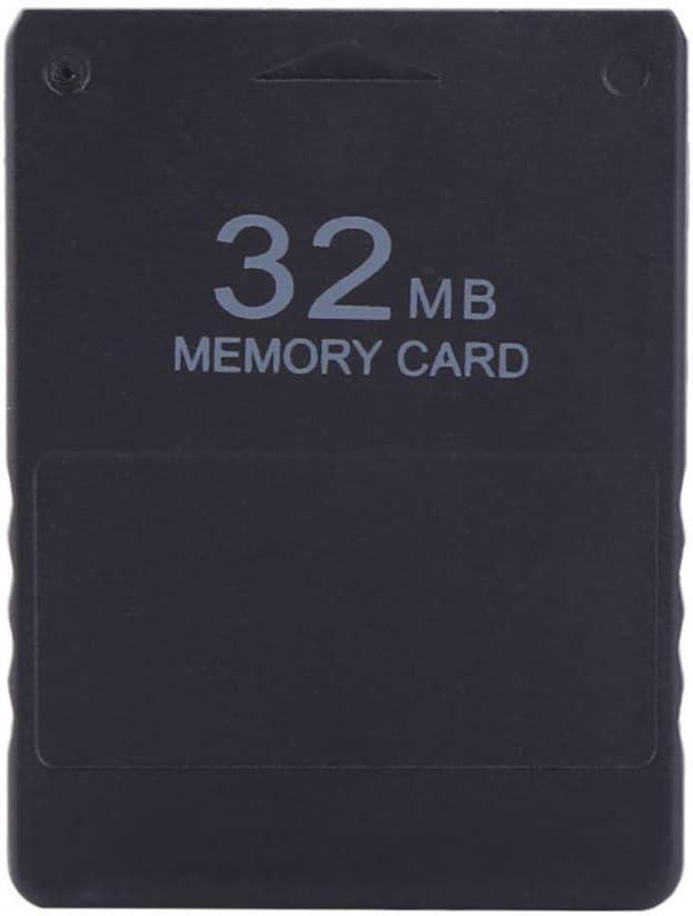 256MB Ersatz f/ür Play Station 2 Rekkles Speicherkarte Speichern Spieldaten-Stick-Modul PS2 Spiel speichern 16.8//32//64//128