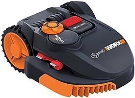 Worx WR091S Robot Rasaerba Landroid, 36 W, 20 V, Nero Arancio, 300 mq