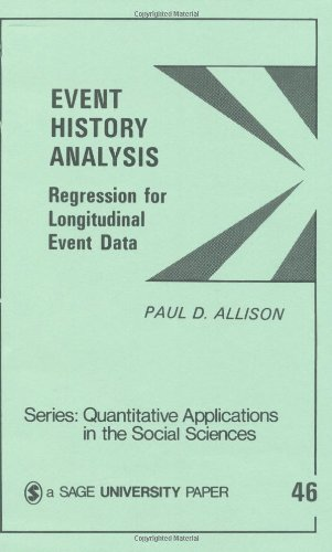 Event History Analysis : Regression for Longitudinal Event Data (Quantitative Applications in the Social Sciences)
