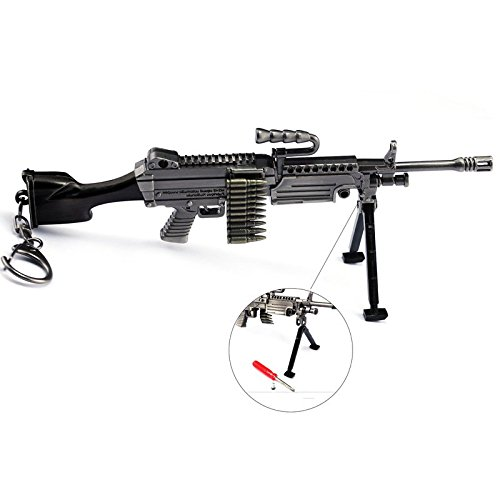 "CHGOO M249 Games Eat Chicken 6.2"" Mini Metal Gun Rifle for sale  Delivered anywhere in USA"