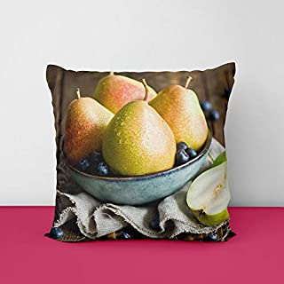 41f LefSWWL. SS320 Fruits Square Design Printed Cushion Cover