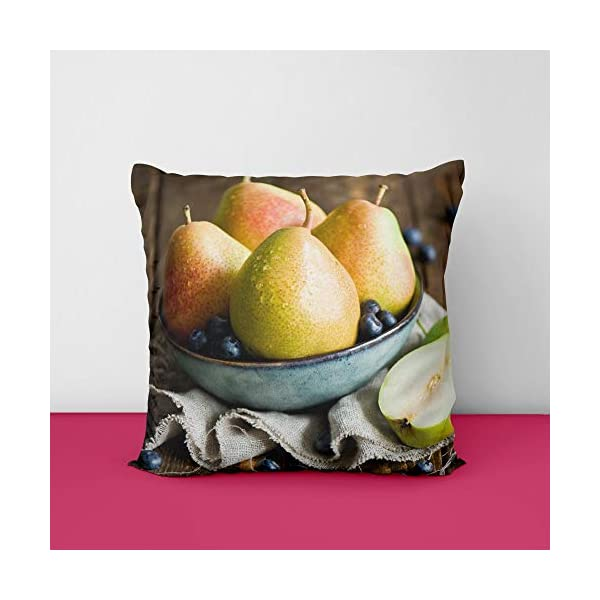 41f LefSWWL Fruits Square Design Printed Cushion Cover