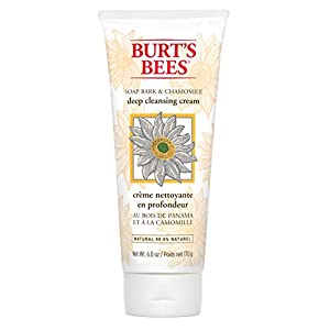 Soap Bark & Chamomile Deep Cleansing Cream Burt's Bees 6 oz Cream