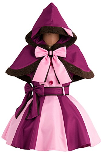 Halloween Cute Cheshire Cat Dress Cosplay Costume Outfit Full Suit Party Dress Up (X-Large)