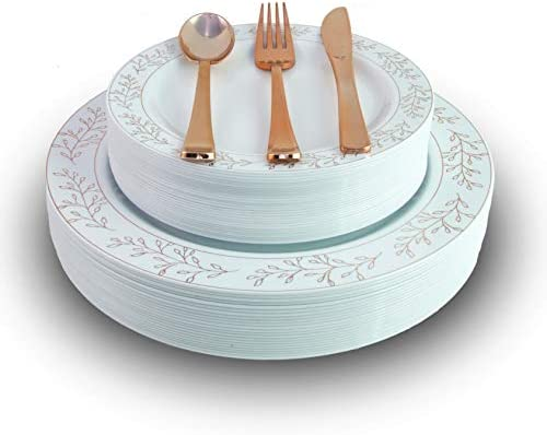 Exquisite Heavyweight Disposable Plastic Cutlery product image