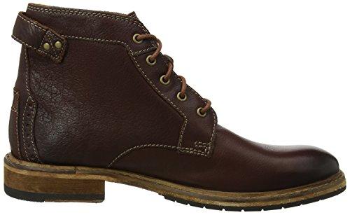 Clarks Herren Clarkdale Bud Klassische Stiefel Braun (Mahogany Leather ----)