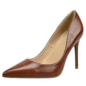 Zanpa Elegant Femmes Business Escarpins Stiletto Heels Bureau Dress Chaussures