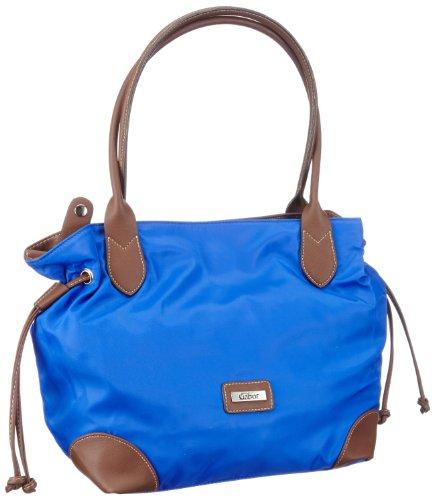 Gabor GRANADA Handtasche, blau - Bolsa de la compra de material sintético mujer azul - Blau (blau 50)