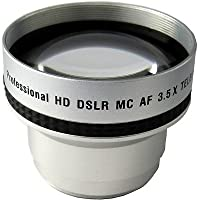 3.5x TelePhoto Lens for Panasonic HDC-SD9, Panasonic HDC-SX5, Panasonic NV-GS330, Panasonic PV-GS120 PV-GS150