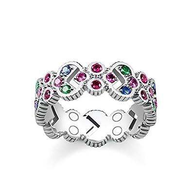 Thomas Sabo Silver Piercing Ring - TR2146-322-7-52 RKinH