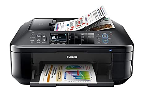 Canon PIXMA MX895 - Impresora multifunción (Inyección de Tinta, Colour, Colour, 9600 x 2400 dpi, 25-400%, 99 copias) Negro