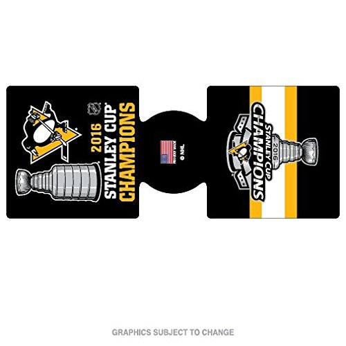 Pittsburgh Penguins Champions Official NHL 2016 Stanley Cup Coozie Can Cooler Champs Wincraft 646194