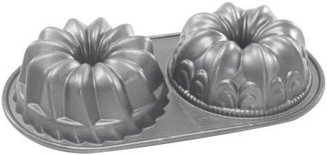 Nordic Ware Platinum Bundt Duet Pan