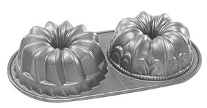 Amazon.com: Nordic Ware Platinum Bundt Duet Pan: Kitchen & Dining
