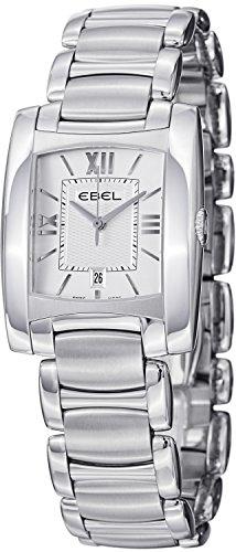 Ebel Brasilia Ladies Stainless Steel Silver Face Watch 9257M32/64500 - 1215774