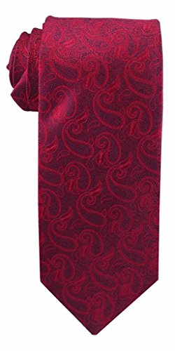 Johnson Brothers Men's Angel Moroni Red Paisley Angel Paisley