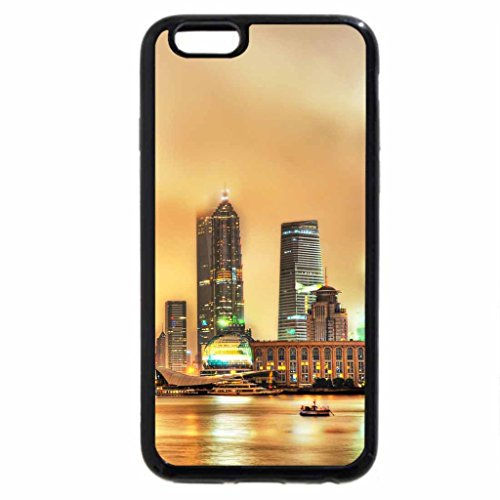 iPhone 6S / iPhone 6 Case (Black) fantastic waterfront view of shanghai hdr