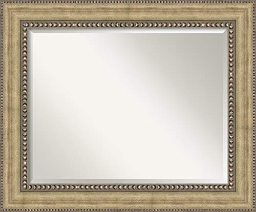 Amanti Art Framed Mirrors for Wall | Astoria Champagne Mirror for Wall -