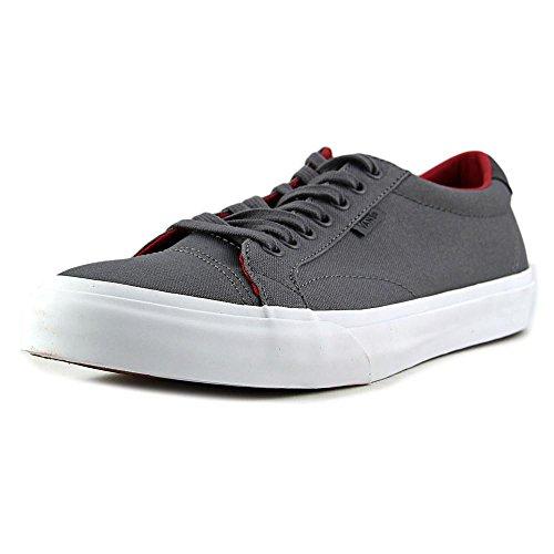 Court Canvas (Vans Unisex Court (Canvas) Shoes (6.5 D(M) US Men / 8 B(M) US Women, Tornado/Crimson) )