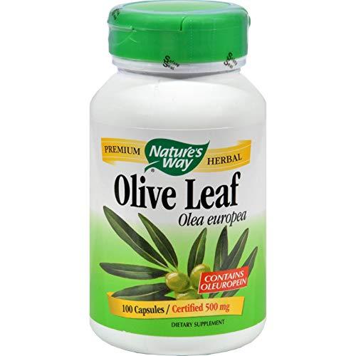 Natures Way Olive Leaf, 100 -