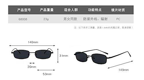 cercle style du Lennon soleil en inspirées rond lunettes Film métallique Jaune retro vintage de polarisées XvIKTH