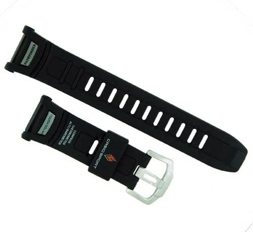 Casio 16/25mm Black Resin