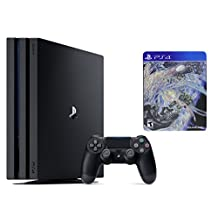 Sony PlayStation 4 Pro Console 2 items Deluxe Bundle:PS4 Pro 1TB Console and Final Fantasy XV Deluxe Edition Game Disc(US Version, Imported)