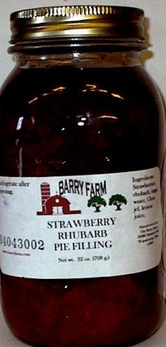 Strawberry Rhubarb Sugar Free Pie Filling, 32 fl. Oz.