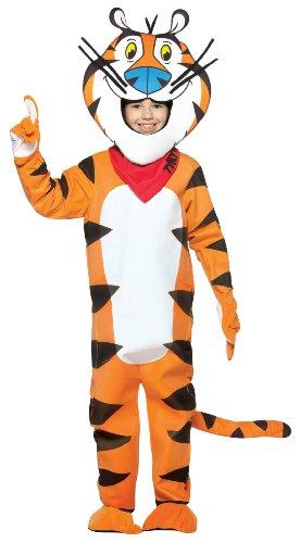 Rasta Imposta Kellogg's Tony the Tiger Child Costume, Size 7-10
