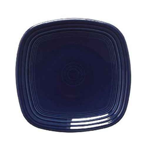 - Fiesta 10-3/4-Inch Square Dinner Plate, Cobalt